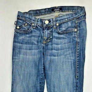 Rock & Republic Womans Size 27 jeans Boot Cut Blue